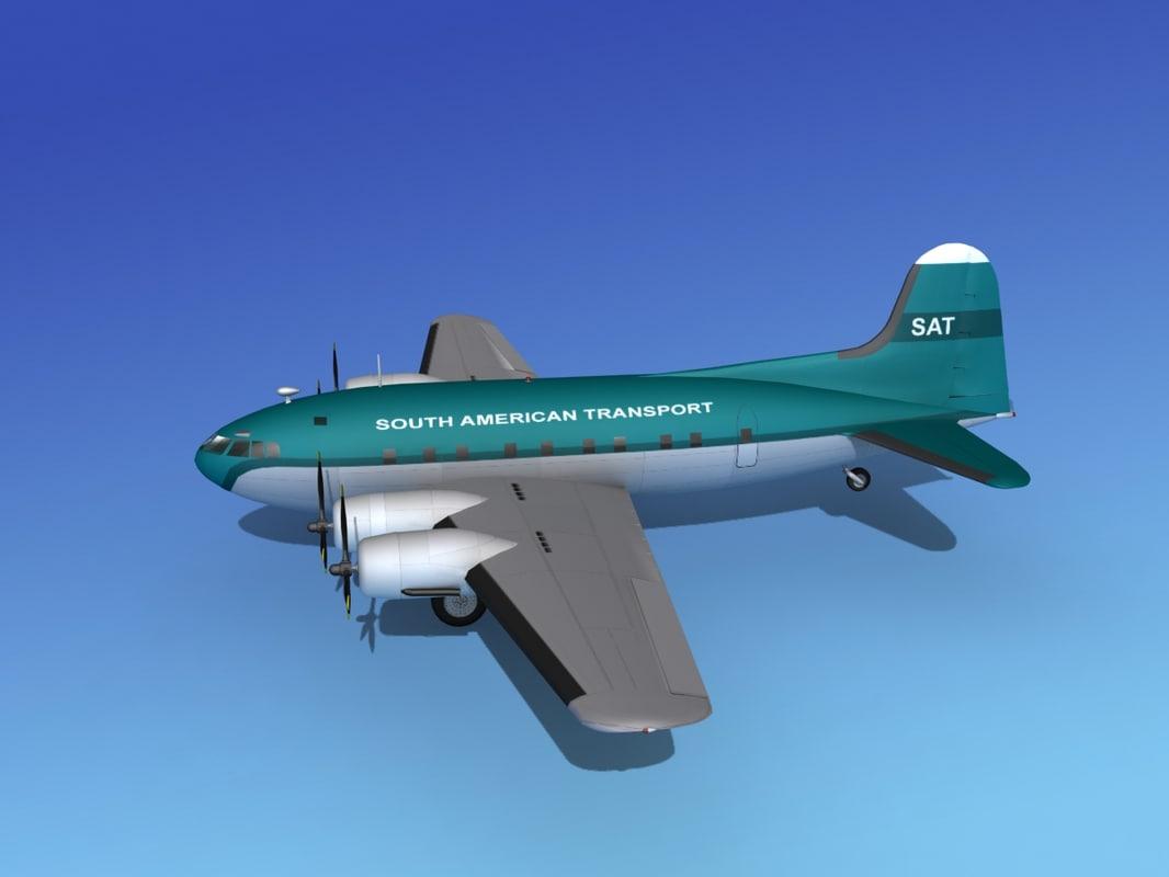 3d propellers boeing 307