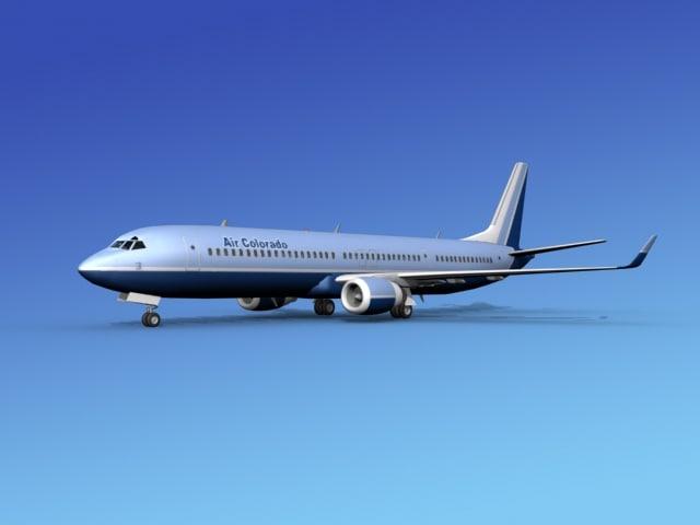 3d lwo 737-900er 737 airplane 737-900