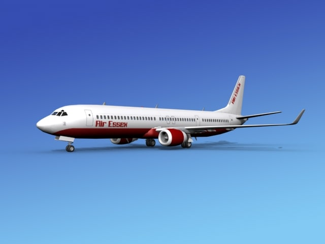 737-900er 737 airplane 737-900 3d dxf