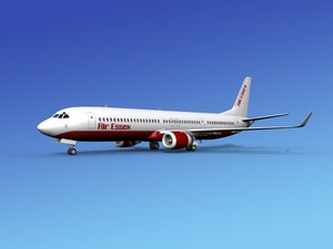 737-900er 737 airplane 737-900 3d dxf