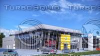 3d auto centre