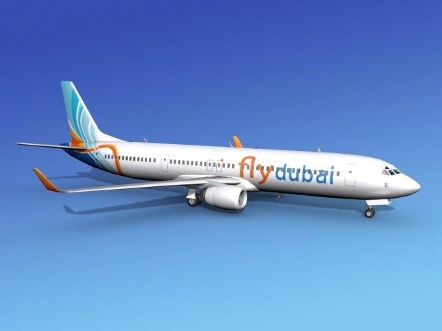737-900er 737 airplane 737-900 3ds