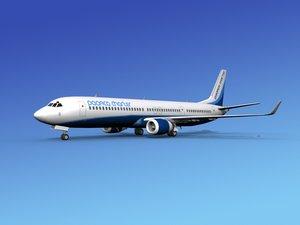 dwg 737-900er 737 airplane 737-900