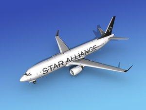 3dsmax 737-900er 737 airplane 737-900