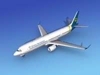 737-900er 737 airplane 737-900 3d model