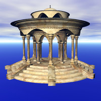 pavillion 3d model