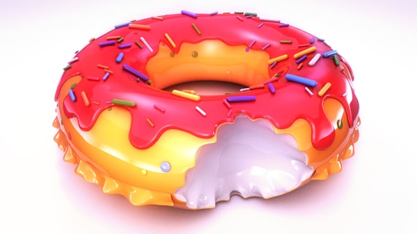 3d swimming pool ring do