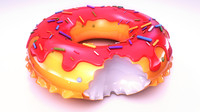 Donut pool ring