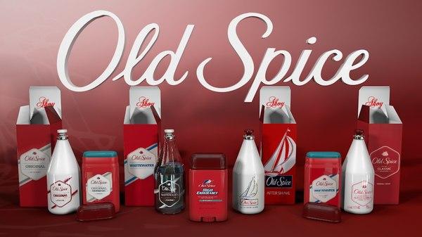 old spice 3d model