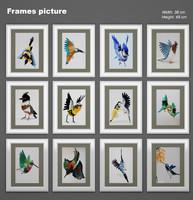 frames picture 02 3d model