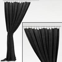 3d curtains window model