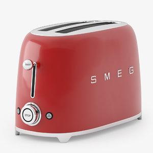 3d model smeg toster