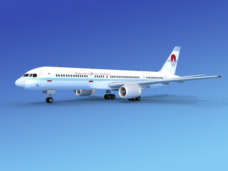 airline boeing 757 757-200 3ds