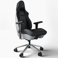 porsche office chair 3d model