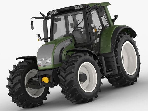 valtra n142 n 3d model