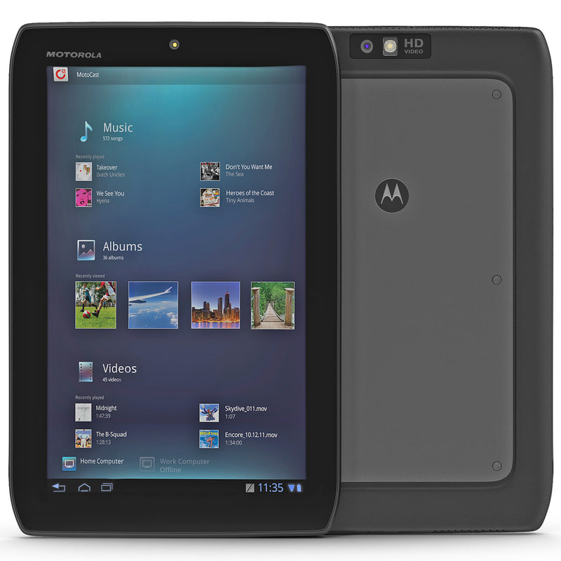 3ds max motorola xoom 2 media