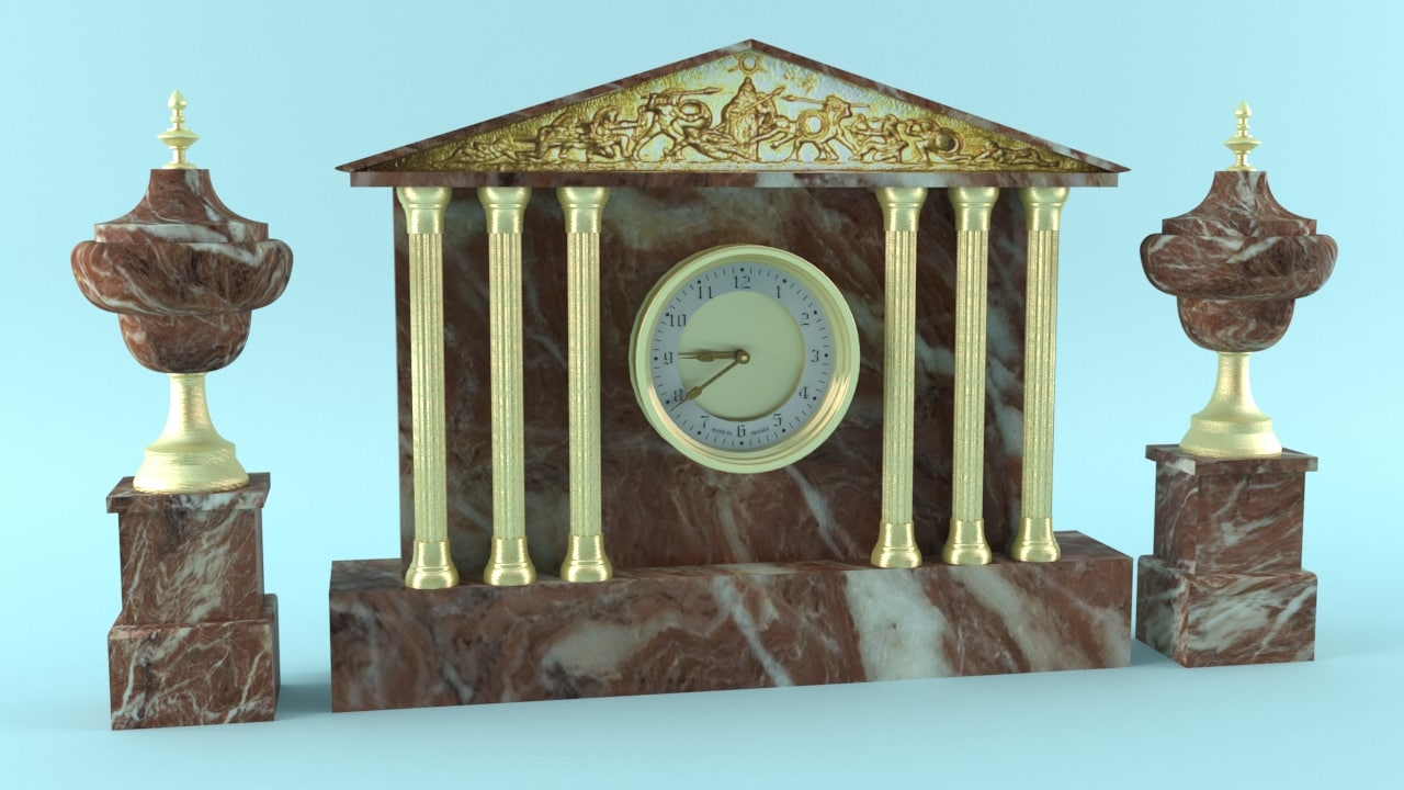 antique clock max