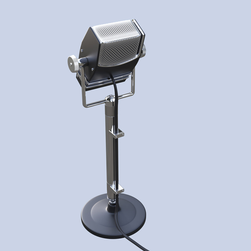 microphone mic retro max
