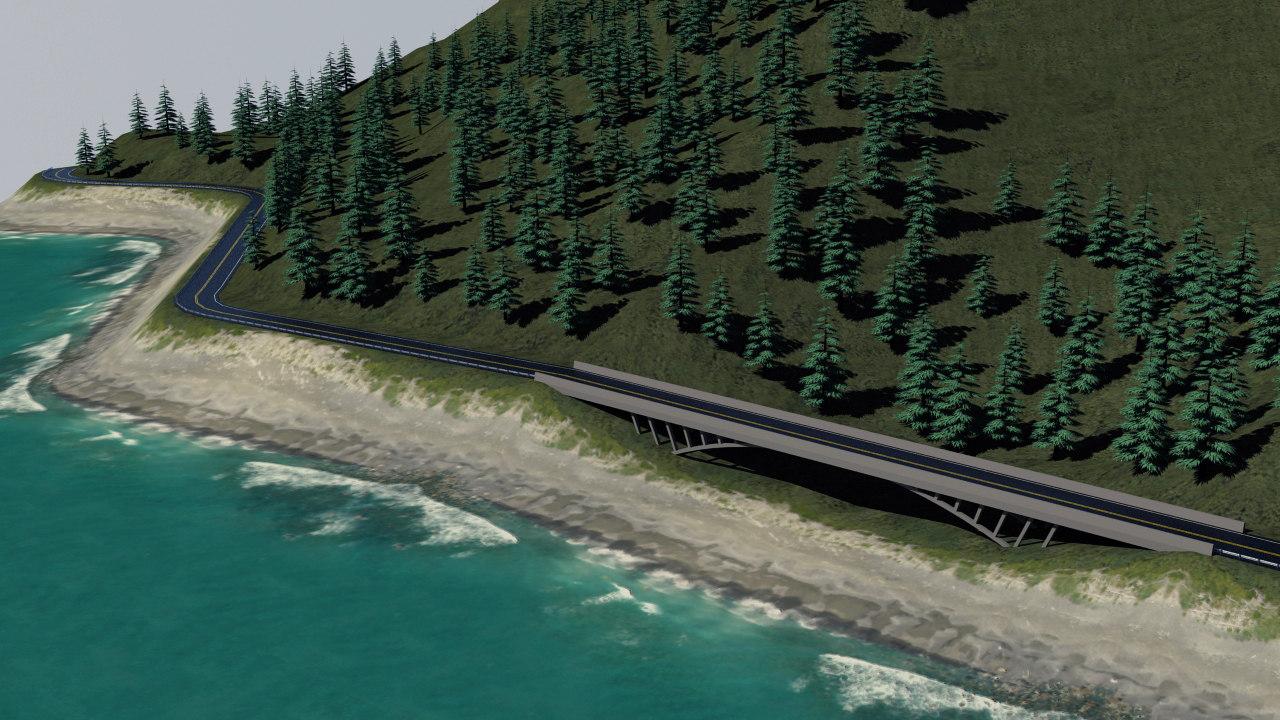 coast road version 2 3d model