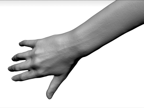 obj female hands