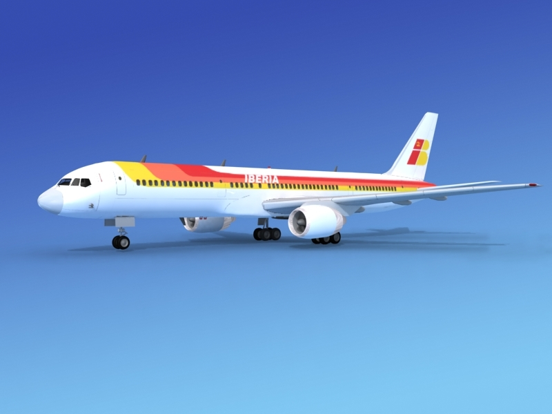obj airline boeing 757 757-200