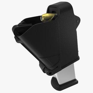 3d universal pistol magazine loader