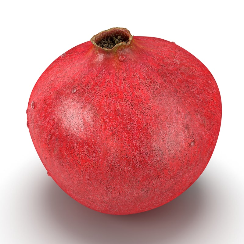3ds max pomegranate