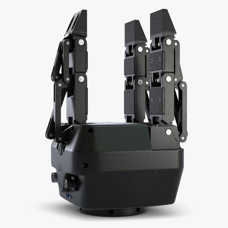 robotic gripp 5 3d 3ds