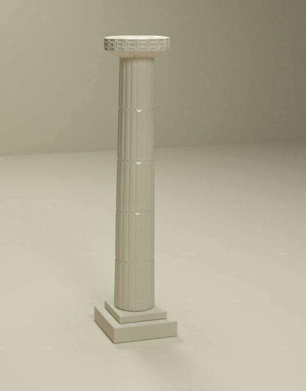 3d max column