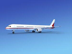 3d lwo airline boeing 757 757-300