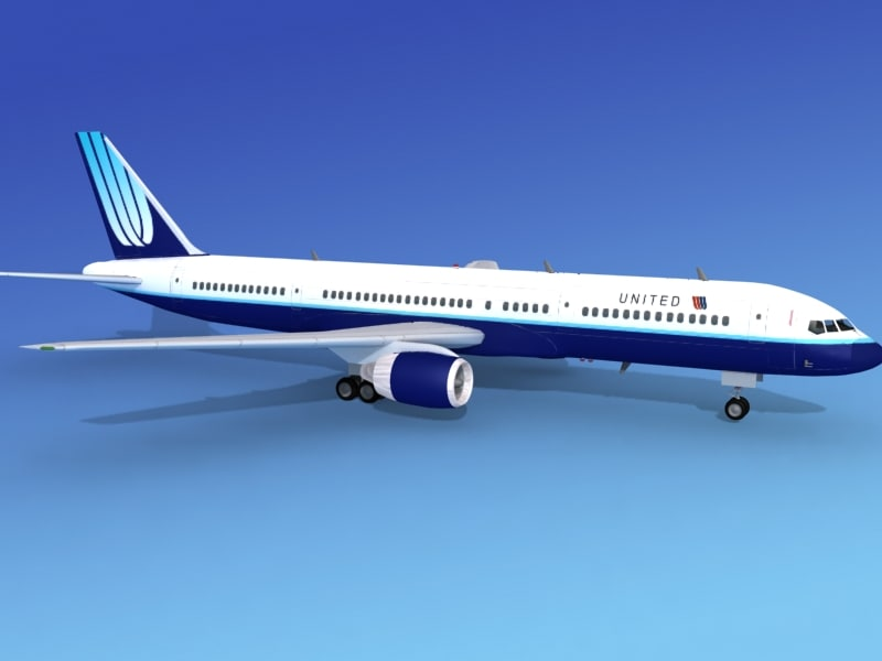 3d airline boeing 757 757-200