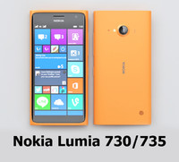 nokia lumia 730 3d max