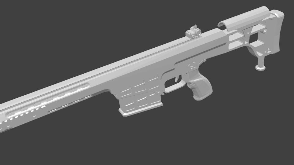 wepon 3d model
