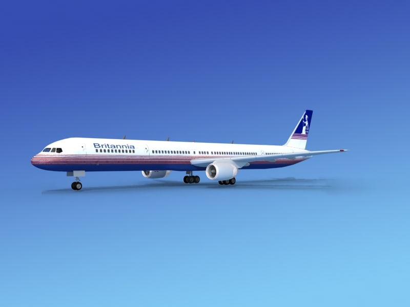 3ds airline boeing 757 757-300