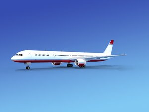 airline boeing 757 757-300 dwg