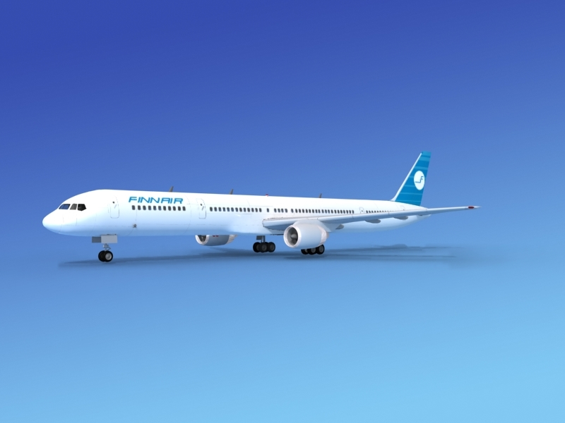 3d airline boeing 757 757-300