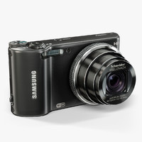 3d model samsung wb150f black