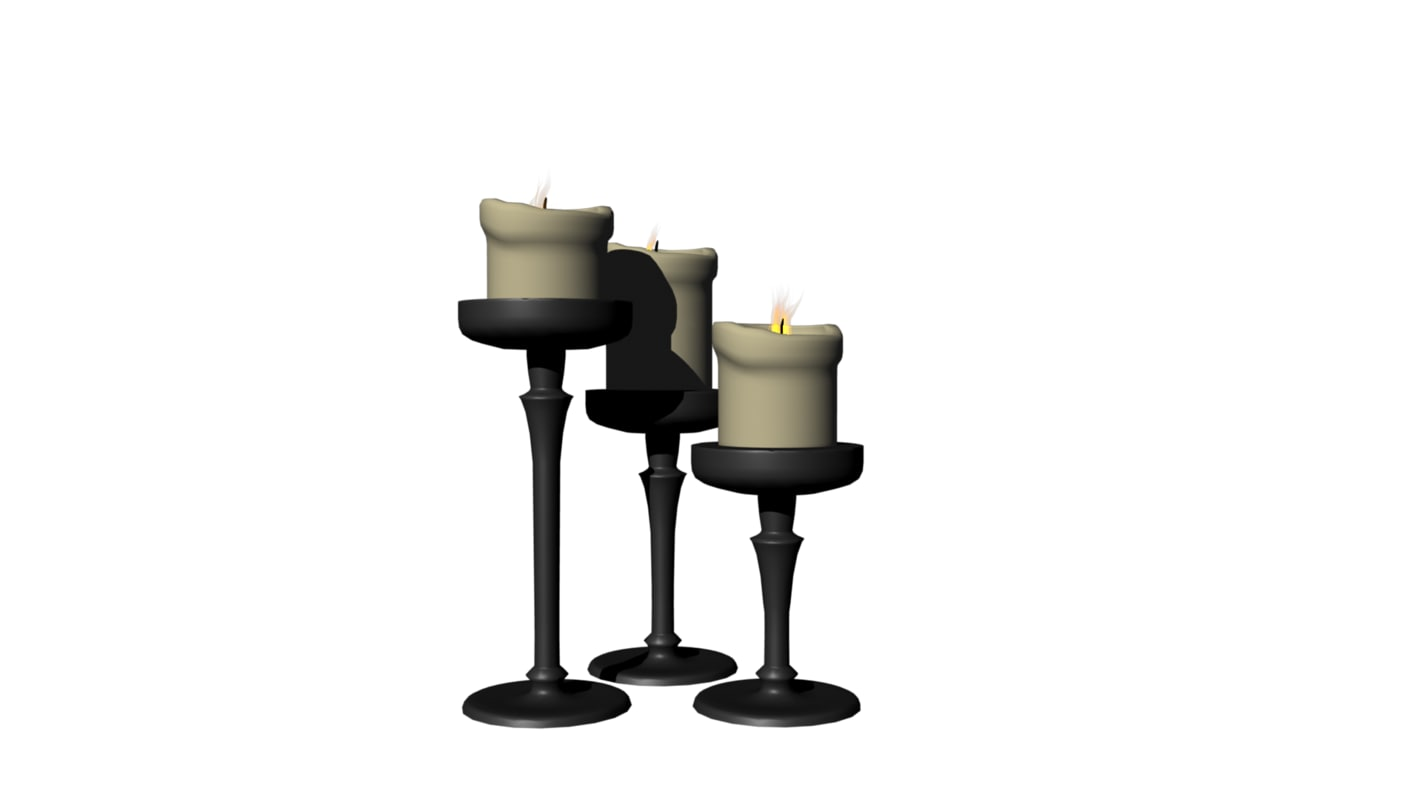 candle obj free