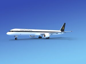 airline boeing 757 757-300 3ds