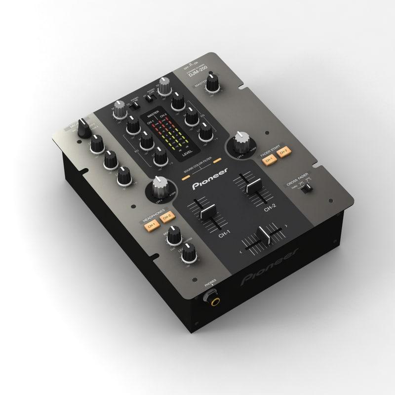 pioneer djm-250 mixer max