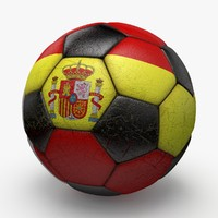 3d model of soccerball ball