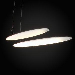 free 3ds model led lamp