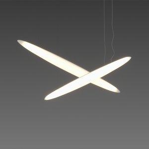 free led lamp lighting 3d model