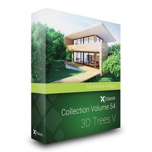 3d trees volume 54 v model