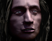 Frederic Chopin male Head & Body textured