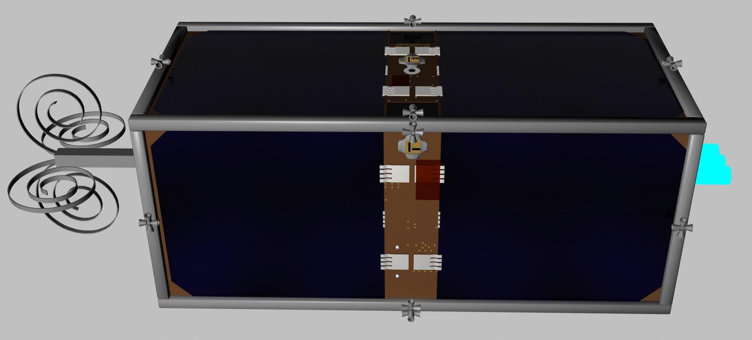 clean space swiss cube 3d max