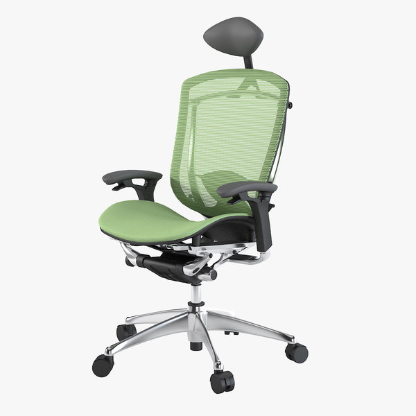 3d model contessa okamura office chair