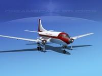 propellers martin 404 3d dwg