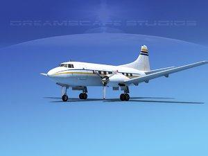 3d model of propellers martin 404