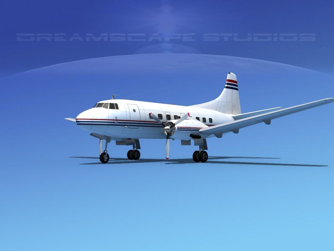 propellers martin 404 3d max